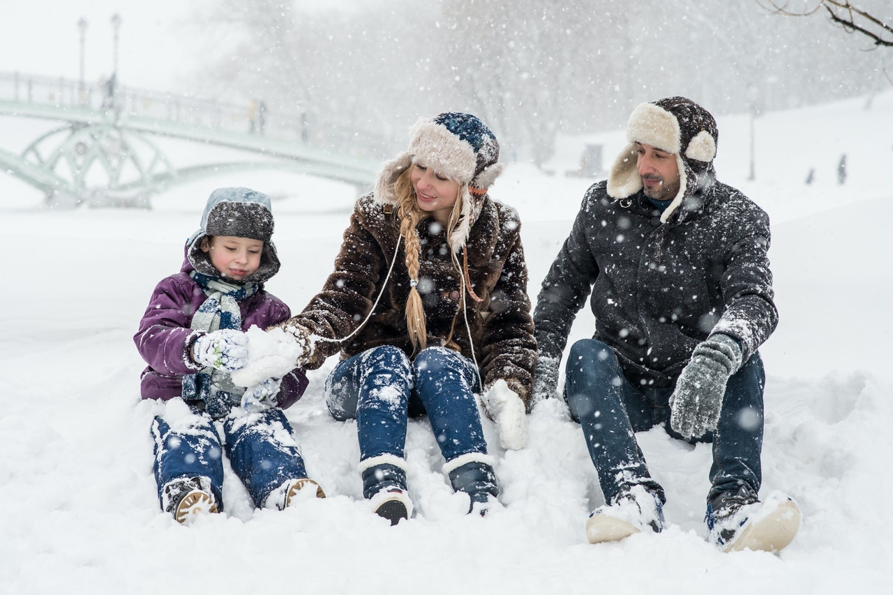 Zimska rekreacija za vso družino.