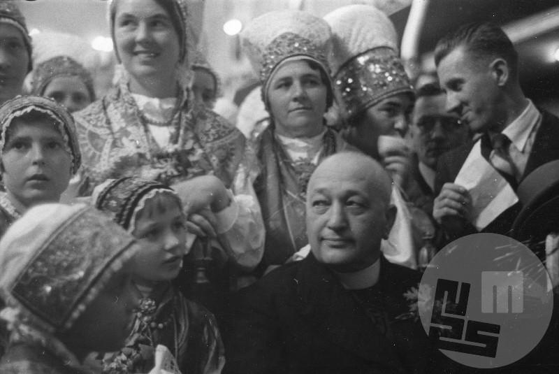 Dr. Anton Korošec na deklaracijski proslavi leta 1937.