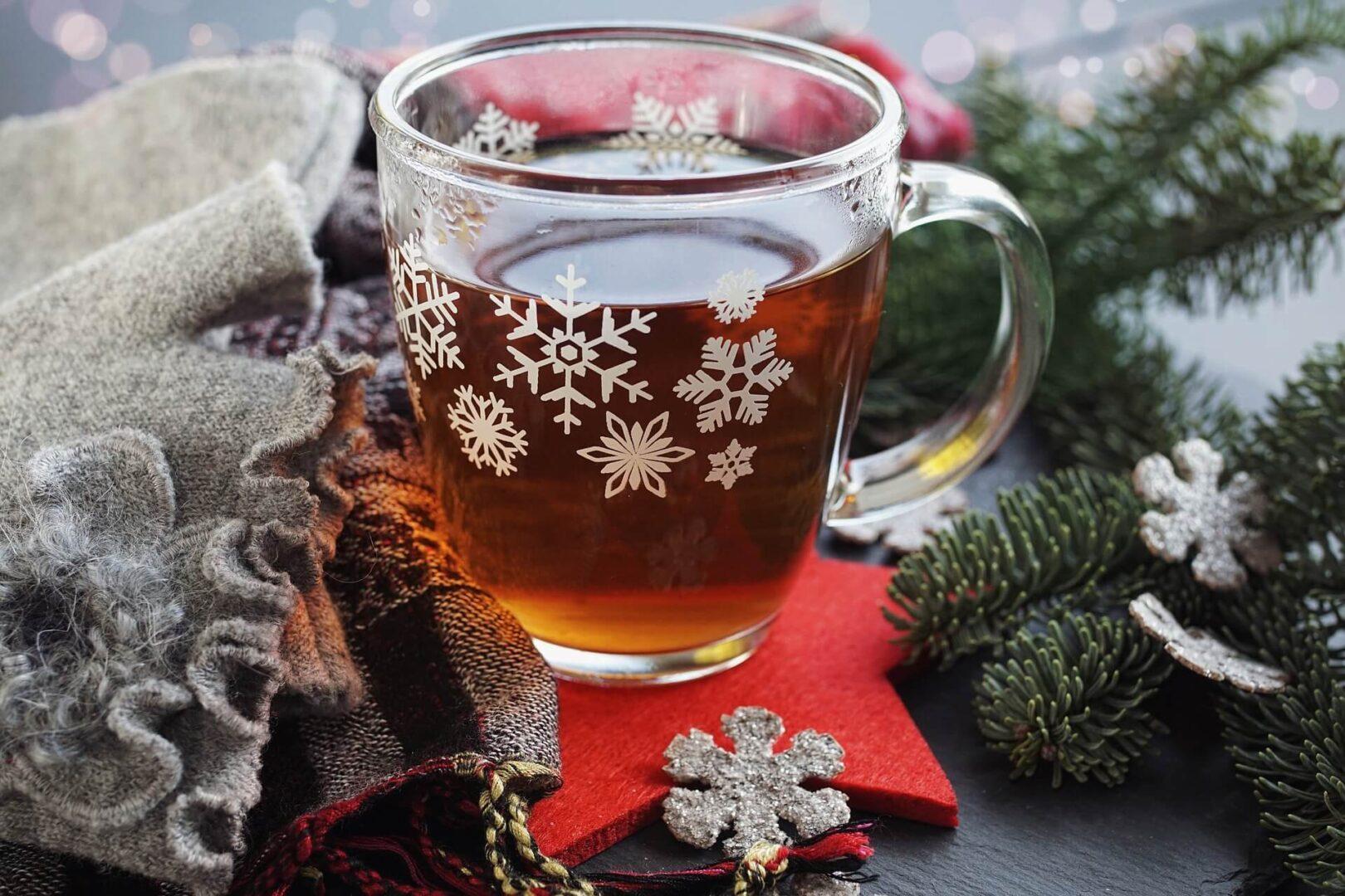 Božični čaj.