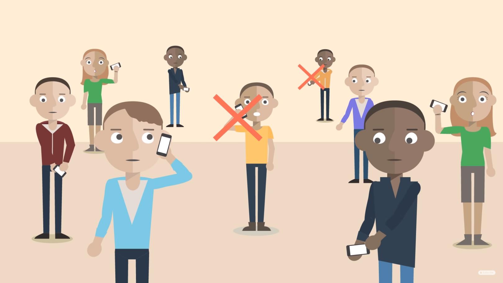 Ne opravljaj nepotrebnih klicev, ker se lahko omrežje zasiči in tisti, ki morajo nujno opraviti klic, tega ne bodo mogli.