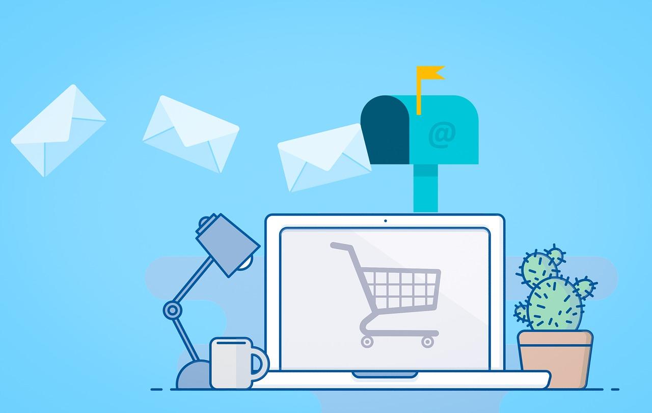 Spletna trgovina pridobiva podatke o strankah.