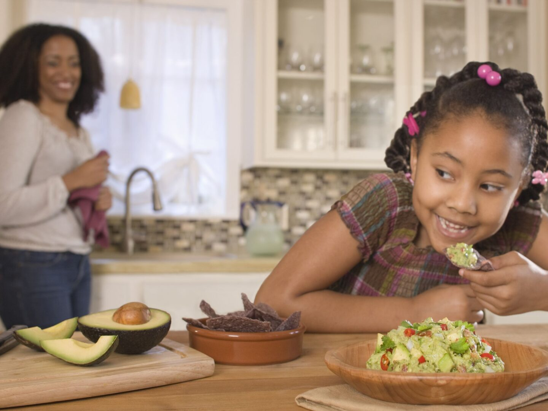 Spodbudite otroka, naj se uči o pravilnem in zdravem vegetarijanstvu.