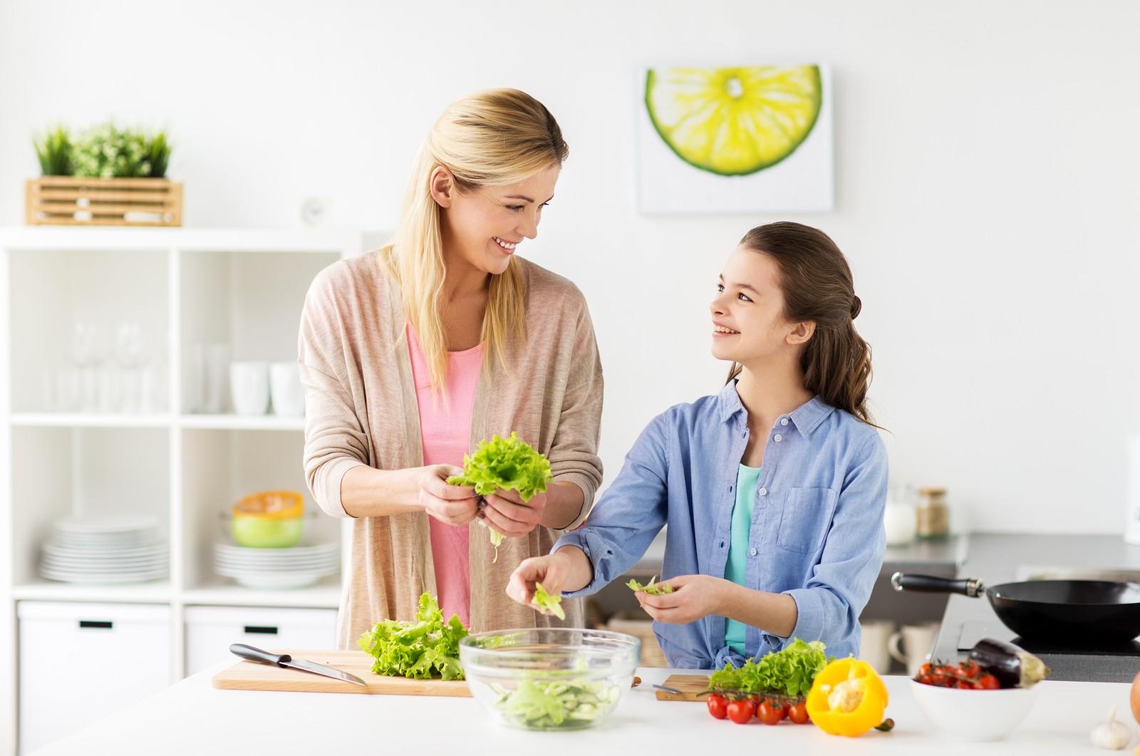 Vegetarijanstvo v družini - najpomembnejša sta strpnost in sodelovanje.
