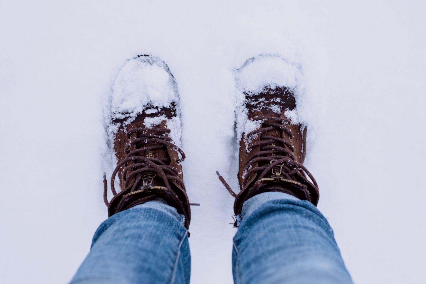 Zimski čevlji niso snežni čevlji.