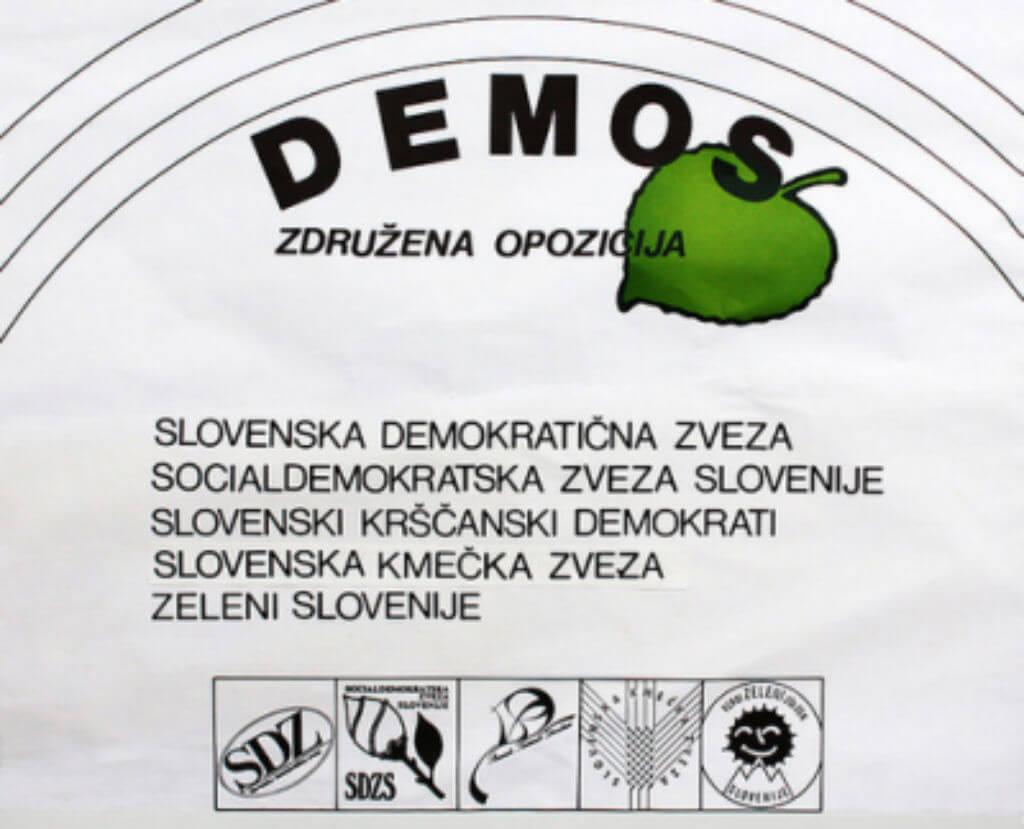 Leta 1989 so bile ustanovljene še preostale nove demokratične sile - Slovenska demokratična zveza, Socialdemokratska zveza Slovenije, Slovenski krščanski demokrati, Zeleni Slovenije in Slovenska obrtniška stranka.