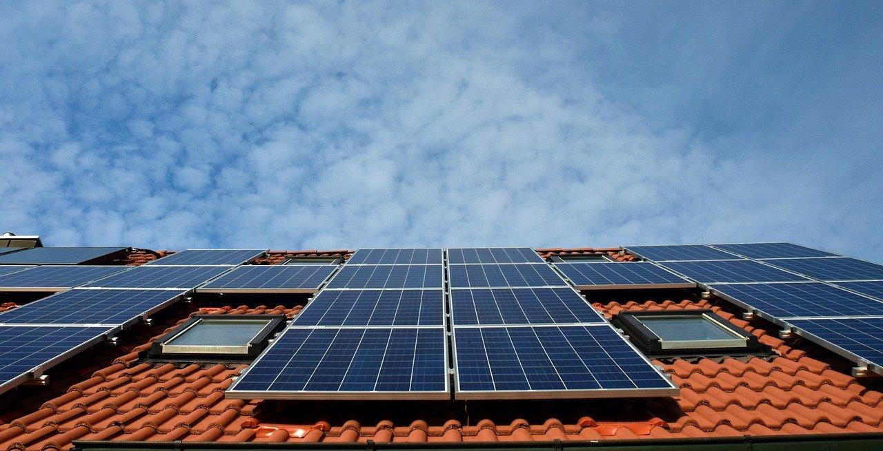 Domača sončna elektrarna.