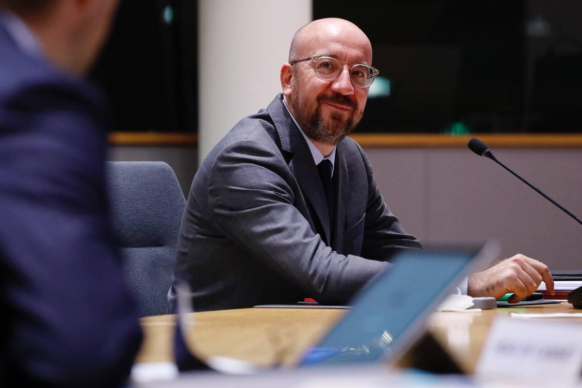Zadnje leto predsedniški položaj pripada Charlesu Michelu, nekdanjemu predsedniku vlade Kraljevine Belgije, ki sicer pripada evropski stranki ALDE (stranki zavezništva liberalcev in demokratov).