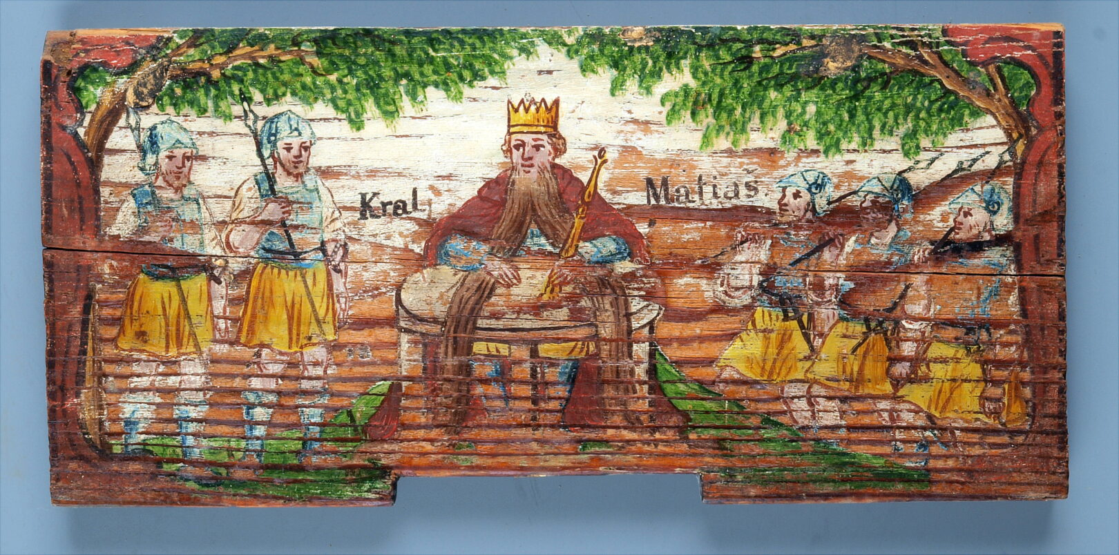 Kralj Matjaž je slovenska pravljica z globokim sporočilom. Le kdaj se bo Matjažu brata devetkrat zavila okoli mize?