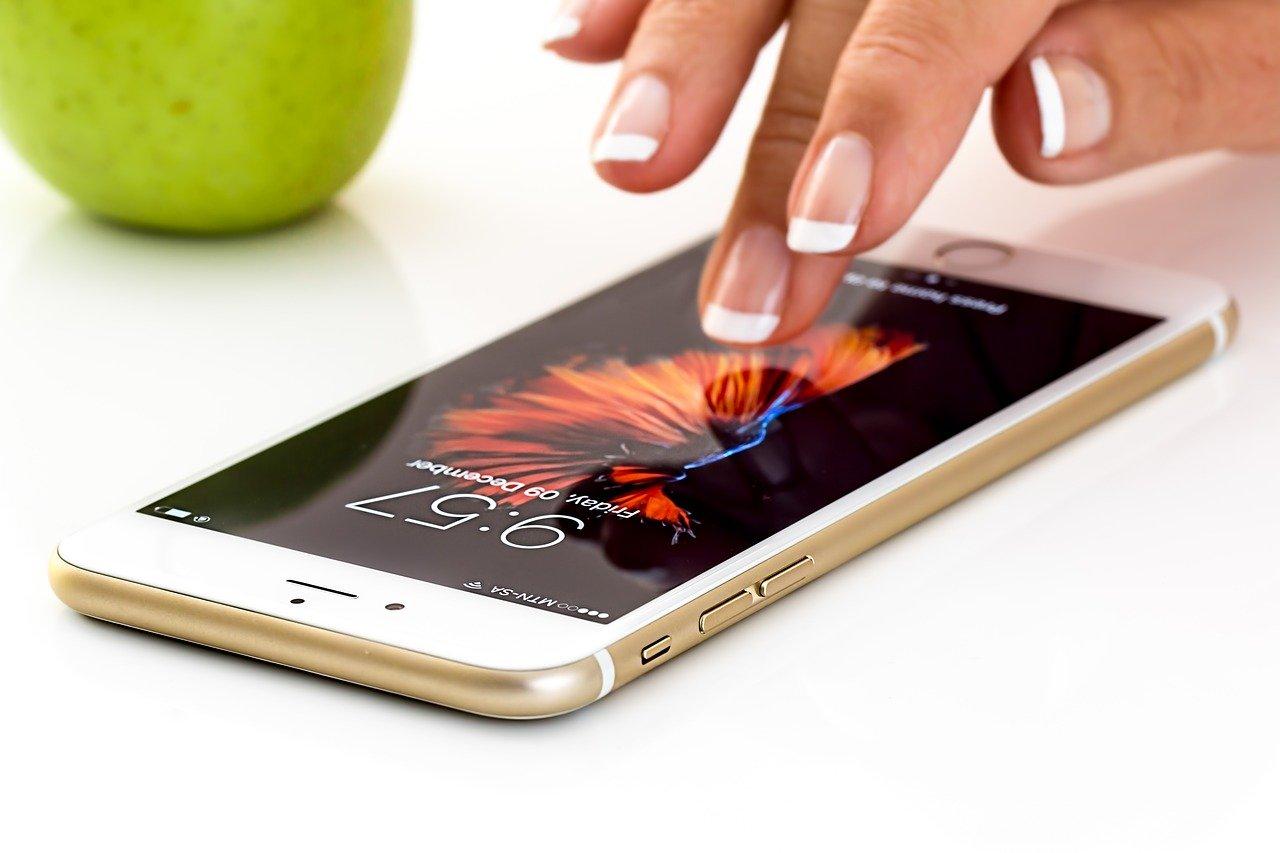 Pametni telefon iPhone.