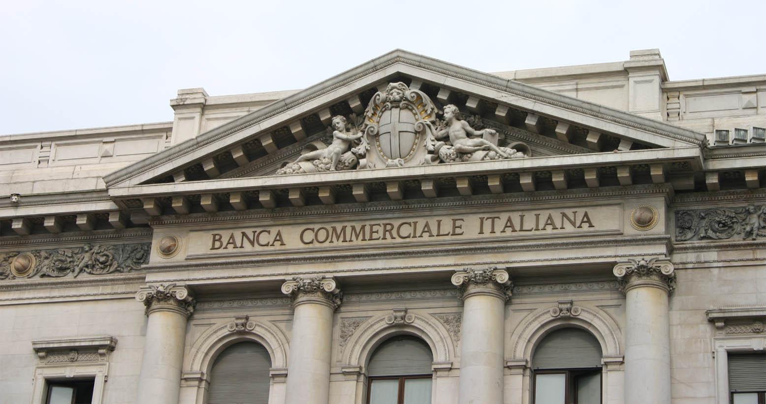 Banca Commerciale Italiana je še dandanes ena največjih italijanskih bank.