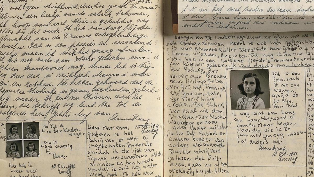 Ano in njeno družino so deportirali v Auschwitz z zadnjim transportnim vlakom, ki je odpeljal nizozemske Jude in to prav na dan, ko so zavezniški vojaki zasedli južni del Nizozemske. »Res je čudno, da nisem opustila vseh svojih idealov, ker so tako nemogoči in absurdni. Vendar nad njimi ne bom obupala, saj kljub vsemu verjamem, da so ljudje dobri.«