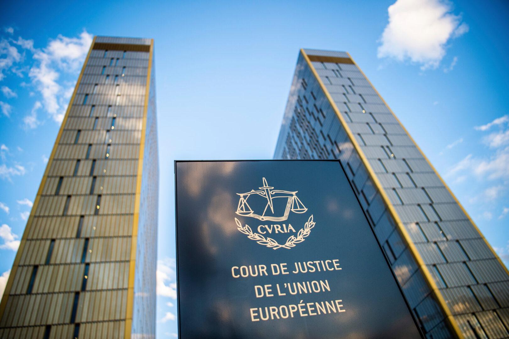 Sodišče EU.