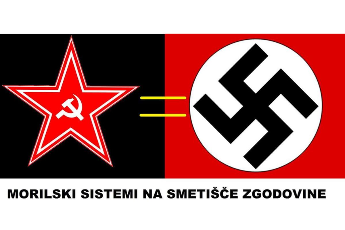 V nasprotju s fašizmom in nacizmom, ki sta bila z drugo svetovno vojno poražena, je komunizem, predvsem po zaslugi Sovjetske zveze, odigral ključno vlogo zmagovalca druge svetovne vojne.