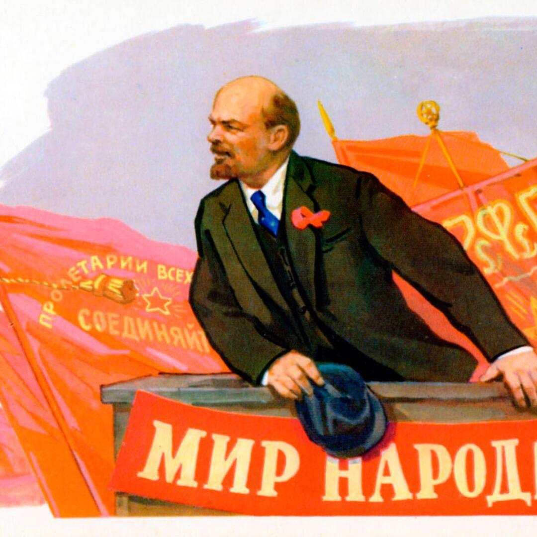 Vladimir Lenin, ruski revolucionar.