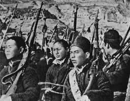 Na kitajskem je divjala vojna, posledično pa lakota.