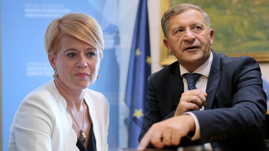Erjavčev lov za mandatarstvom se je začel, ko je na podlagi hudih političnih in medijskih pritiskov vodenje stranke zapustila dr. Aleksandra Pivec.