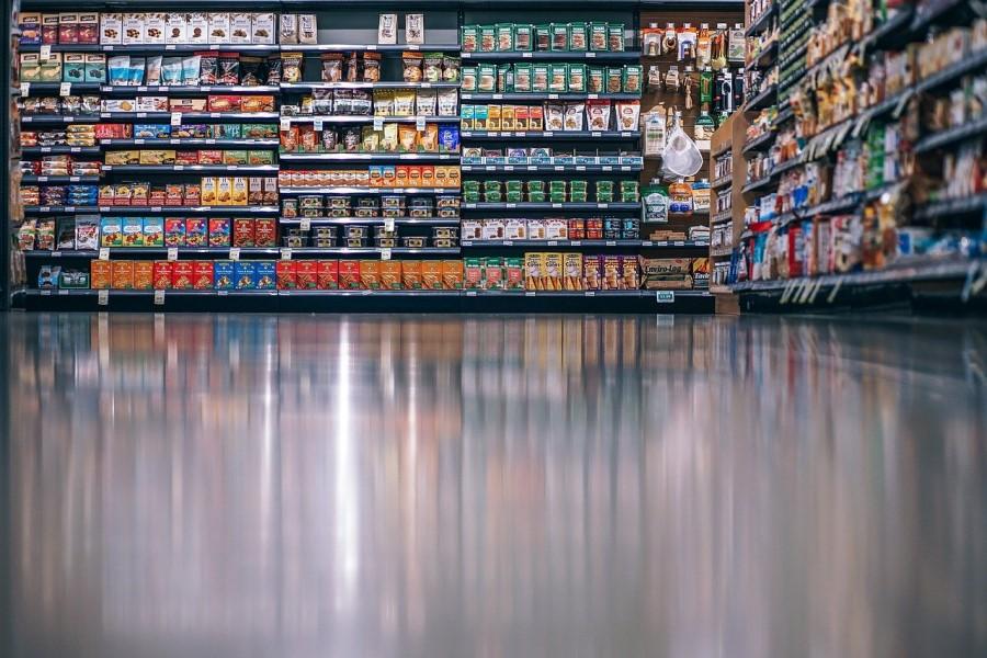 Cene hrane, alkohola in tobačnih izdelkov so po prvi oceni evropskih statistikov na letni ravni zrasle za 1,4 odstotka.