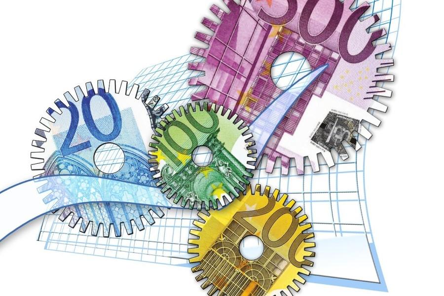 Inflacija je nadzorovana s strani centralnih bank.
