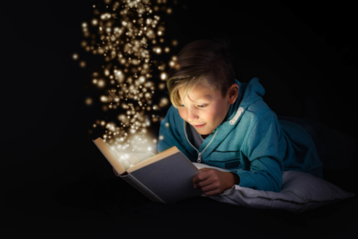 Otrok in knjiga