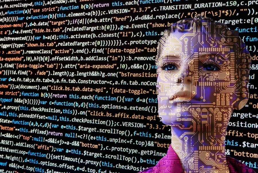 Roboti in umetna inteligenca.
