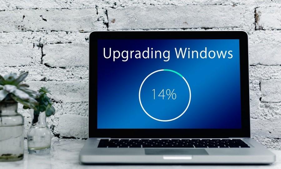 Windows poskrbi za komunikacijo v ozadju.