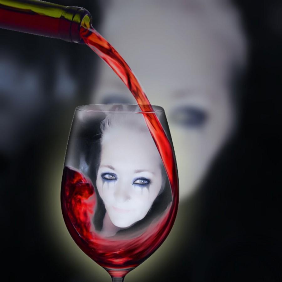 Rana, storjena zaradi alkoholizma, se celi dlje časa