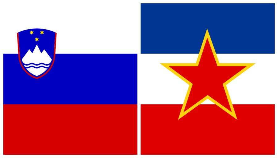 Kakor je Jugoslavija samo še stvar zgodovine, tako so stvar zgodovine tudi državni simboli, ki nas vežejo na bivšo državo in na totalitarni režim, ki je državo držal skupaj.