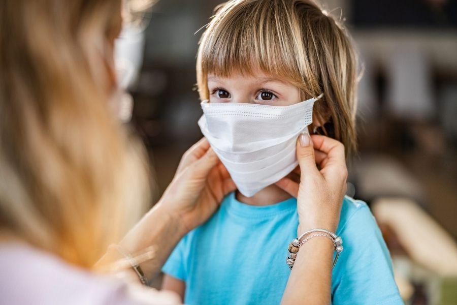 So maske za otroke škodljive?