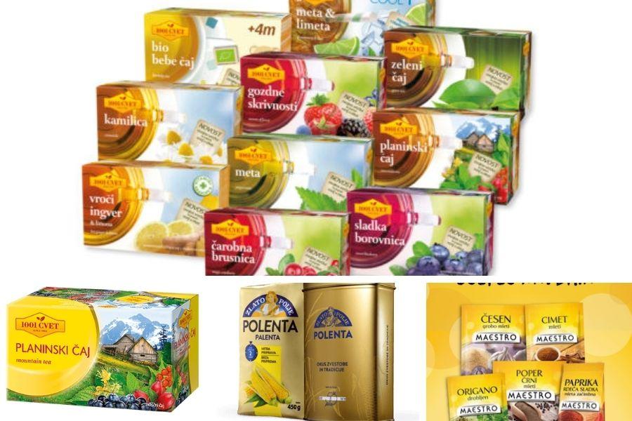 Prvi proizvajalec vsem znanih čajev je bilo podjetje Droga Portorož. Danes je večinski lastnik blagovne znamke Podravka.