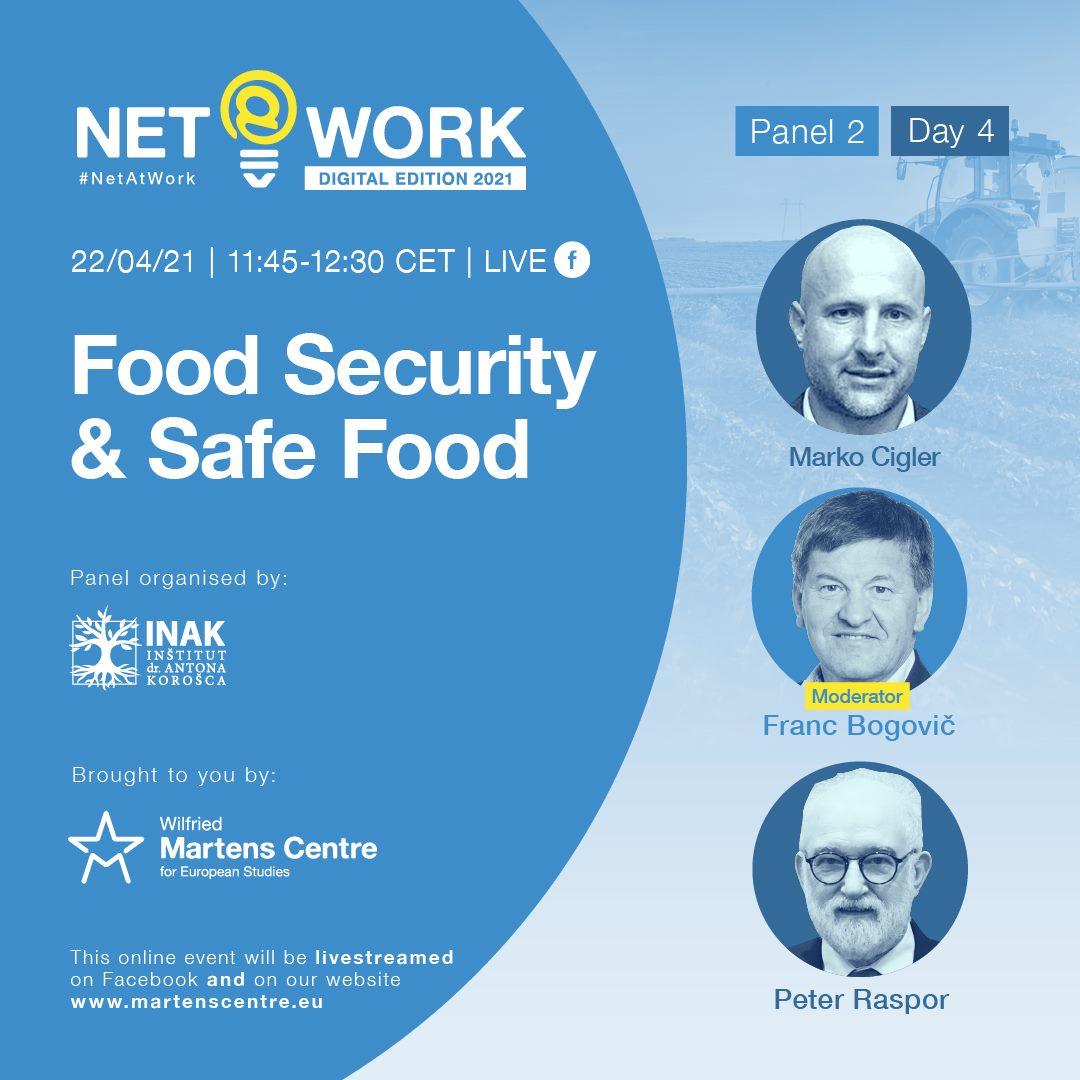 V razpravi bodo sodelujoči spregovorili o stebrih prehranske varnosti, o izzivih, ki so pred nami, ter predlagali rešitve. Naslovili bodo tudi nujnost gradnje zavedanja vzdolž celotnega življenjskega ciklusa in vzdolž celotne prehranske verige, pomen sprejetja strateških načrtov na ravni posameznih držav članic ter pomen zaupanja v kakovost pridelave in proizvodnje hrane. Vir slike: WMCES.