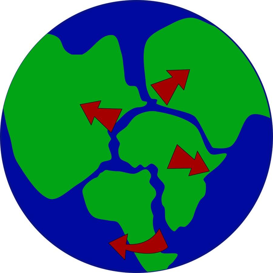 Pangea je po znanstvenih domnevah nastala pred približno 300 milijoni leti.