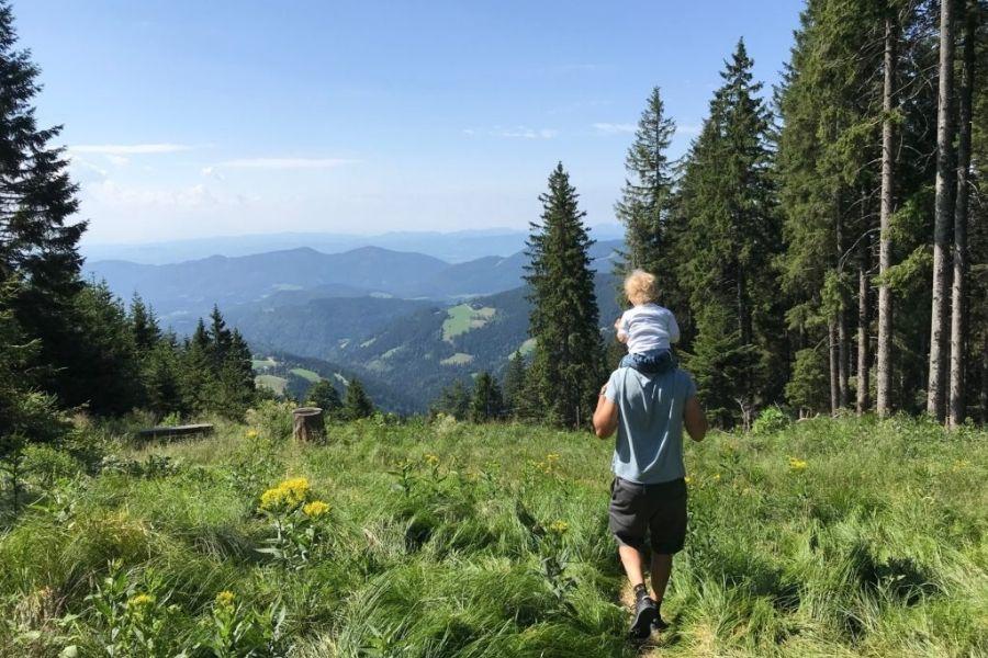 Za ljubitelje sredogorja sta pravšnji planota Golte in Pohorje. Vir slike: Kamzmulcem.si.