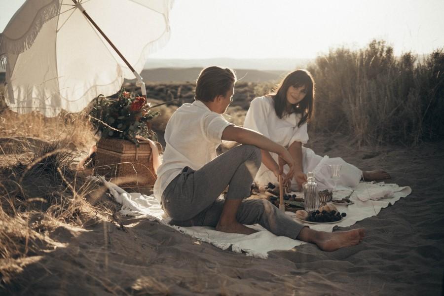 Poročno potovanje je čas za sprostitev.