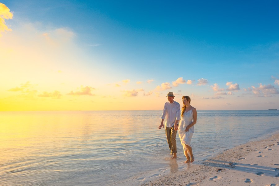Poročno potovanje je odlično za načrtovanje prihodnosti.