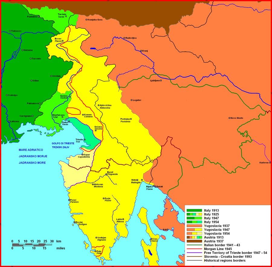 Poseben odsek so v Slovencu redno namenili tudi okupirani Primorski.