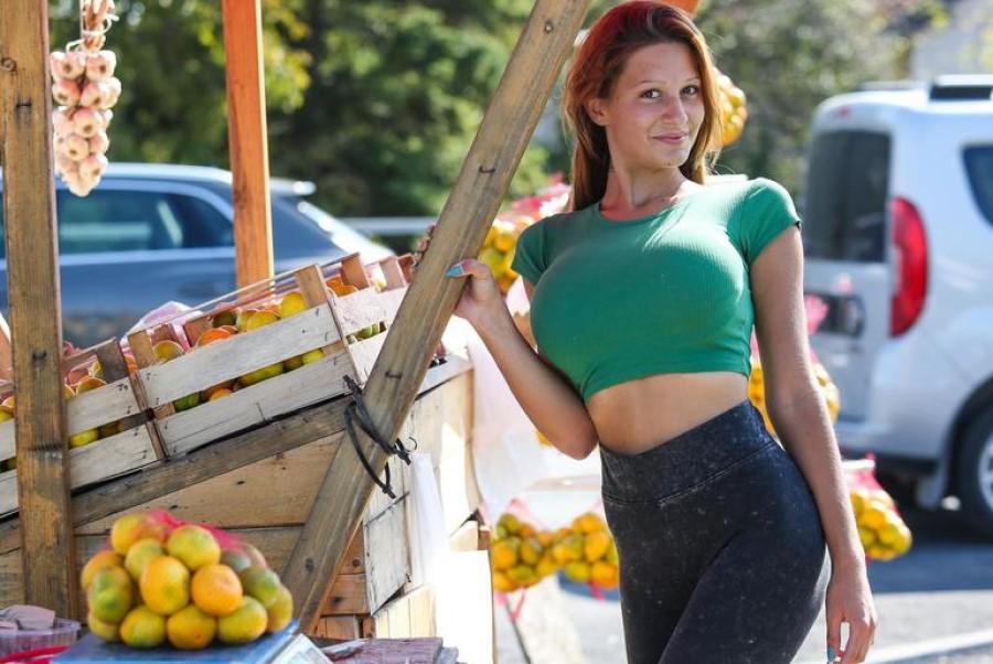 Prodaja sadja in zelenjave ob slovenskih cestah