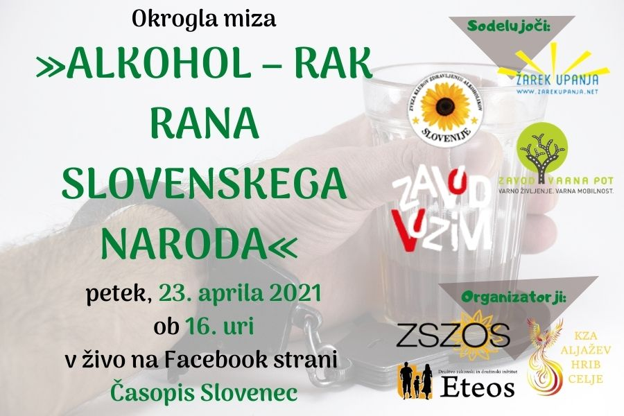 Alkohol – rak rana slovenskega naroda