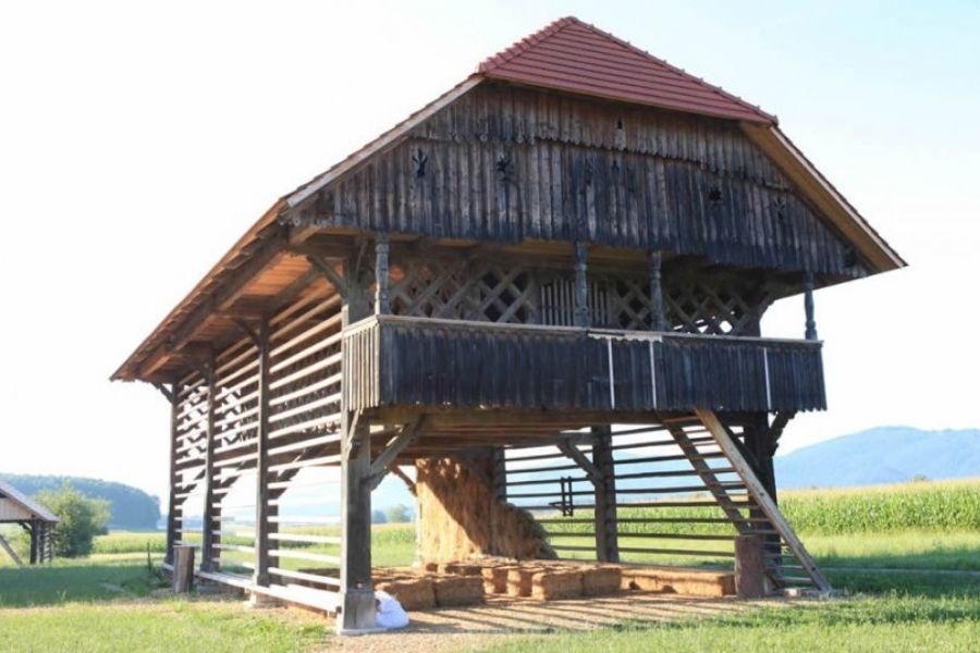 Gre tudi za ohranitev kulturne krajine in za stalno soočanje  s procesi zaraščanja slovenskega podeželja. Vir slike: Izletko.