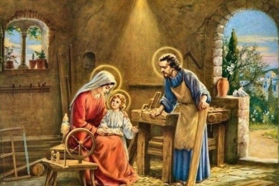 Praznik sv. Jožefa Delavca ni praznik, ki slavi delo, temveč delavca, človeka. Vir slike: Tuxpi.