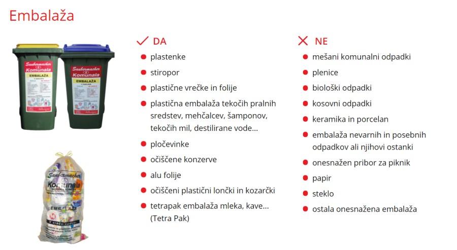 Vsaka plastenka ne spada v zaboj za plastiko.