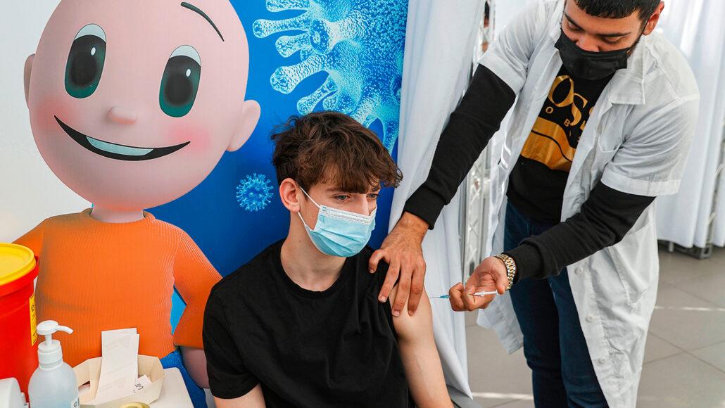 Cepljenje otrok proti covidu-19 v Sloveniji