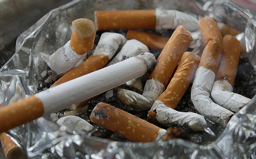 V cigaretnih ogorkih so bile zaznane tudi nevarne snovi - vključno z arzenom, svincem, nikotinom in formaldehidom.