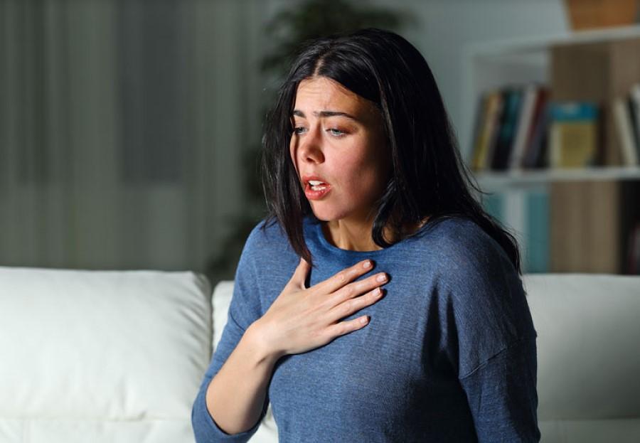 Običajno panični napad traja manj kot tri, štiri minute.