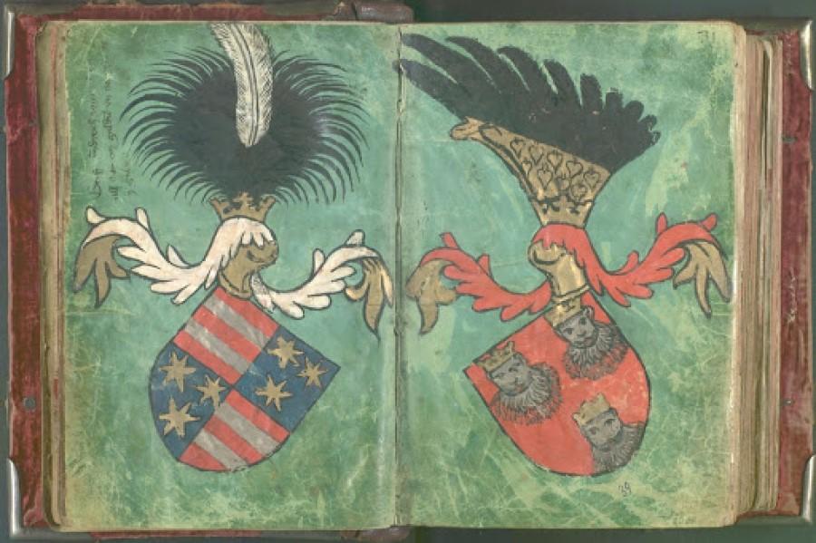 Pred 100 leti so v Slovencu, ko se je določal grb države nasprotoval polmesecu v grbu in predlagal, da se v grbu raje uporabijo šestkratne zvezde iz grba celjskih grofov.