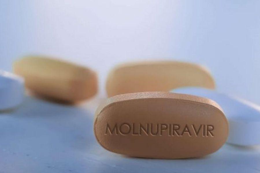 Zdravilo molnupiravir je protivirusna učinkovina, ki preprečuje podvajanje virusa. Razvila ga je zasebna ameriška univerza. Vir slike: Shutterstock.