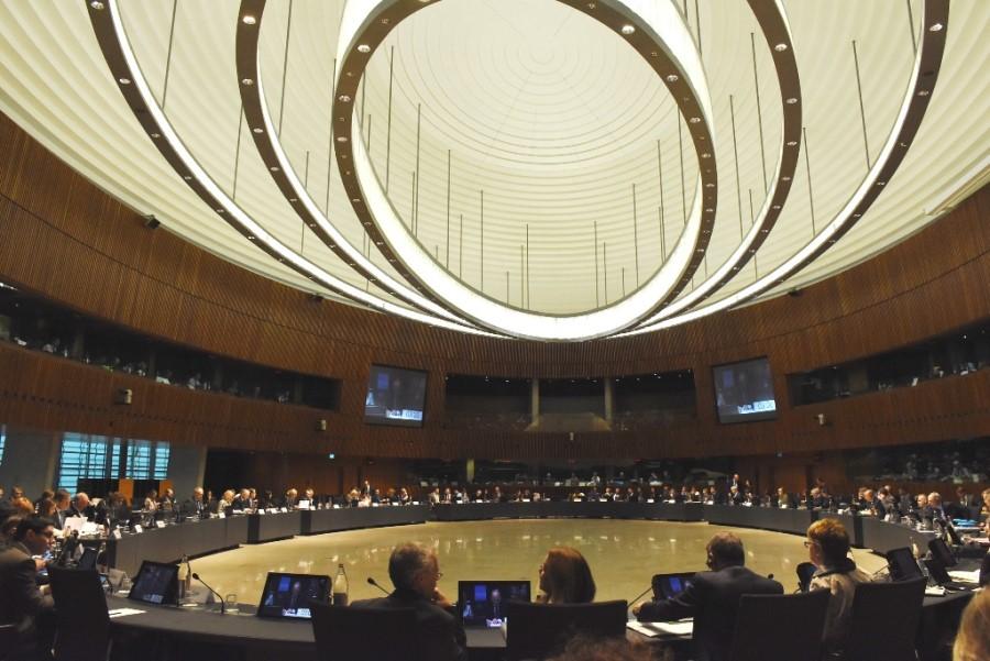 Svet EU sicer nima stalnih članov, se pa glede na področje politike, ki je na dnevnem redu seje, sestaja v 10 različnih sestavih.