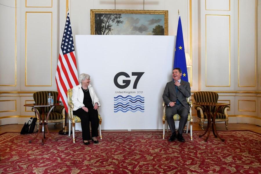 Skupina G7 je sklenila dogovor o obdavčitvi multinacionalnih podjetij