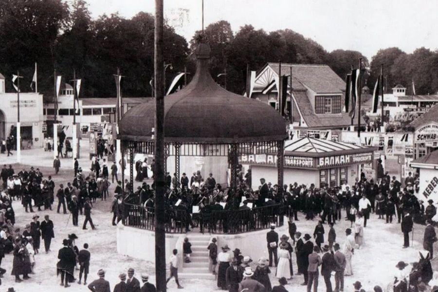 Ljubljanski velesejem 1921. Vir slike: Renton.