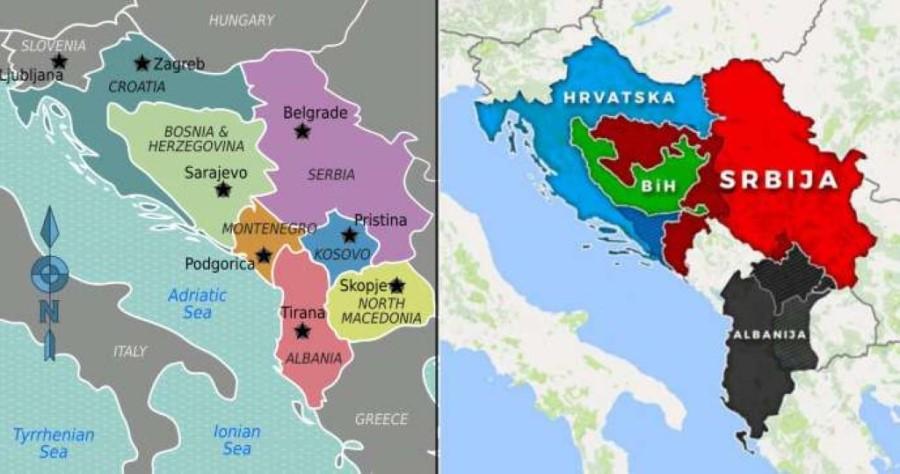 Vse, kar imamo, je zemljevid, ki prikazuje razdelitev ozemlja nekdanje Jugoslavije. Od kod je prišel ta zemljevid in kdo je njegov avtor, pa do danes ne ve nihče.