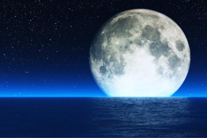 Slovenska ljudska pravljica: Zakaj je mesec nag